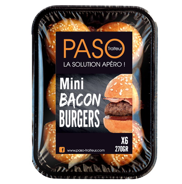 Mini Bacon Burgers