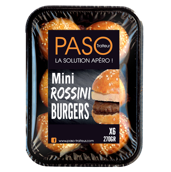 Mini Rossini Burgers