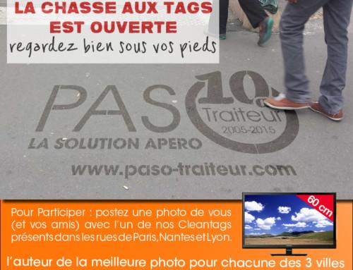 Tentez de gagner une TV en postant une photo de vous avec l'un de nos Clean-Tag® : du 1er au 30 juin.