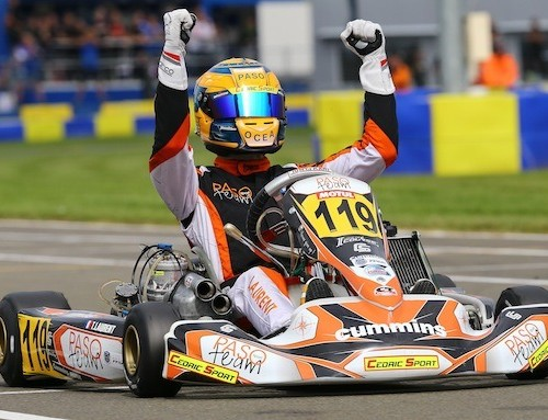 Thomas LAURENT, Champion du monde de Karting KZ2 2015