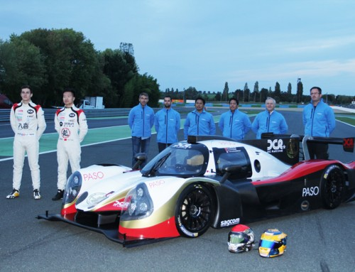 Thomas Laurent en LMP3 avec YMR en 2016!