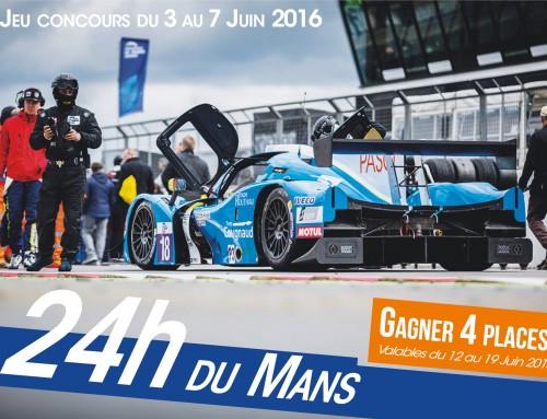 Grand jeu des 24h du Mans, partez encourager Thomas Laurent