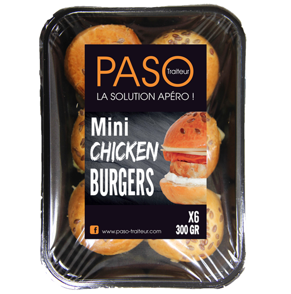 Mini Chicken Burgers PASO