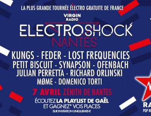 Gagnez vos places pour l'Electroshock de Nantes le 7 avril 2017
