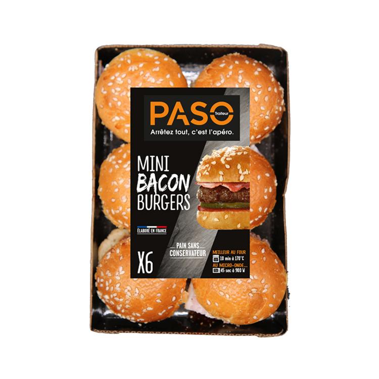 Mini Bacon Burgers