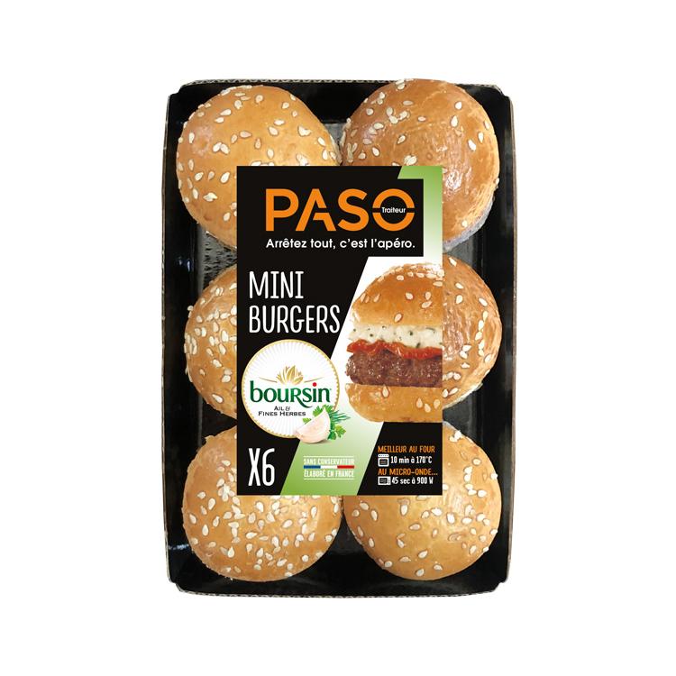 Mini Boursin Burgers