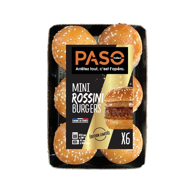 Mini Rossini Burgers